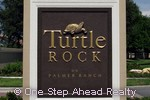 Turtle Rock community sign