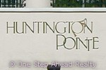 Huntington Pointe community sign